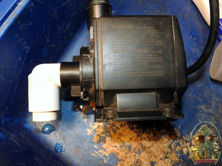 EcoPlus 396 GPH Submersible/Inline Water Pump