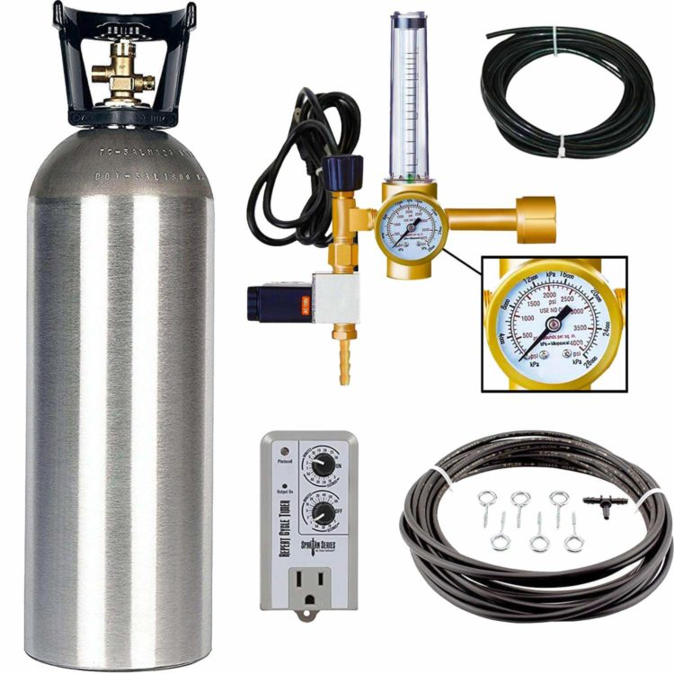 Hydroponic CO2 Enrichment Kit